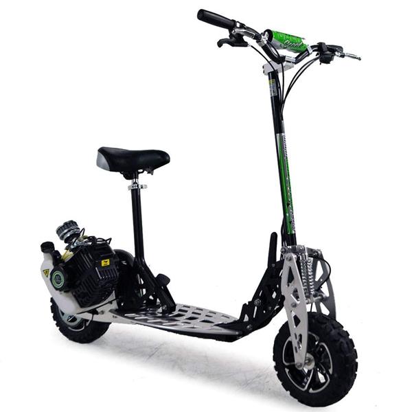 Trotinette Quot A Gasolina De Uber Scoot 2x 71cc Fora Do