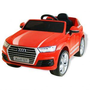 vidaXL Carro de passeio Audi Q7 elétrico 6 V vermelho