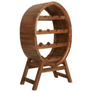 Garrafeira para 13 garrafas em madeira de acácia maciça