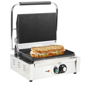 Grelhador sanduicheira Panini 2200 W 44x41x19 cm