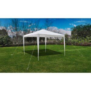 Tenda para jardim com cobertura em pirâmide 3 x 3 m