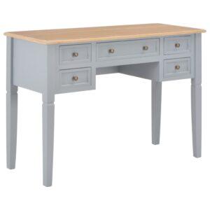 Secretária 109,5x45x77,5 cm madeira cinzento