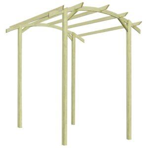 vidaXL Pérgola de jardim madeira de pinho impregnado FSC 180x197x210cm
