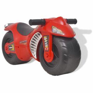 vidaXL Mota de passeio ride-on, plástico, vermelha