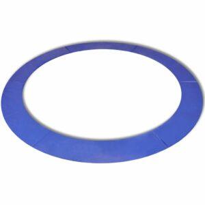 vidaXL Almofada de segurança PE azul p/ trampolim redondo 4,26 m