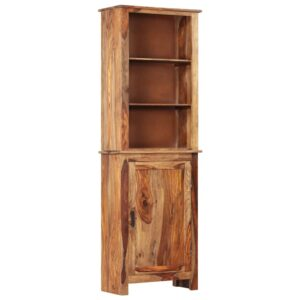 vidaXL Aparador alto 60x30x180 cm madeira de sheesham maciça