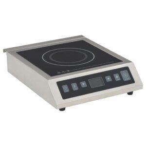 vidaXL Placa de indução elétrica de mesa com ecrã tátil 3500 W
